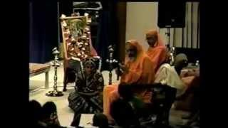 Pavithra Srinivasan (Bharathanatyam) - Sundara Kandam 2 & Blessings from Dayananda Saraswati