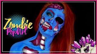 ZOMBIE POP ART- Maquillaje - Halloween - Lau Quintero