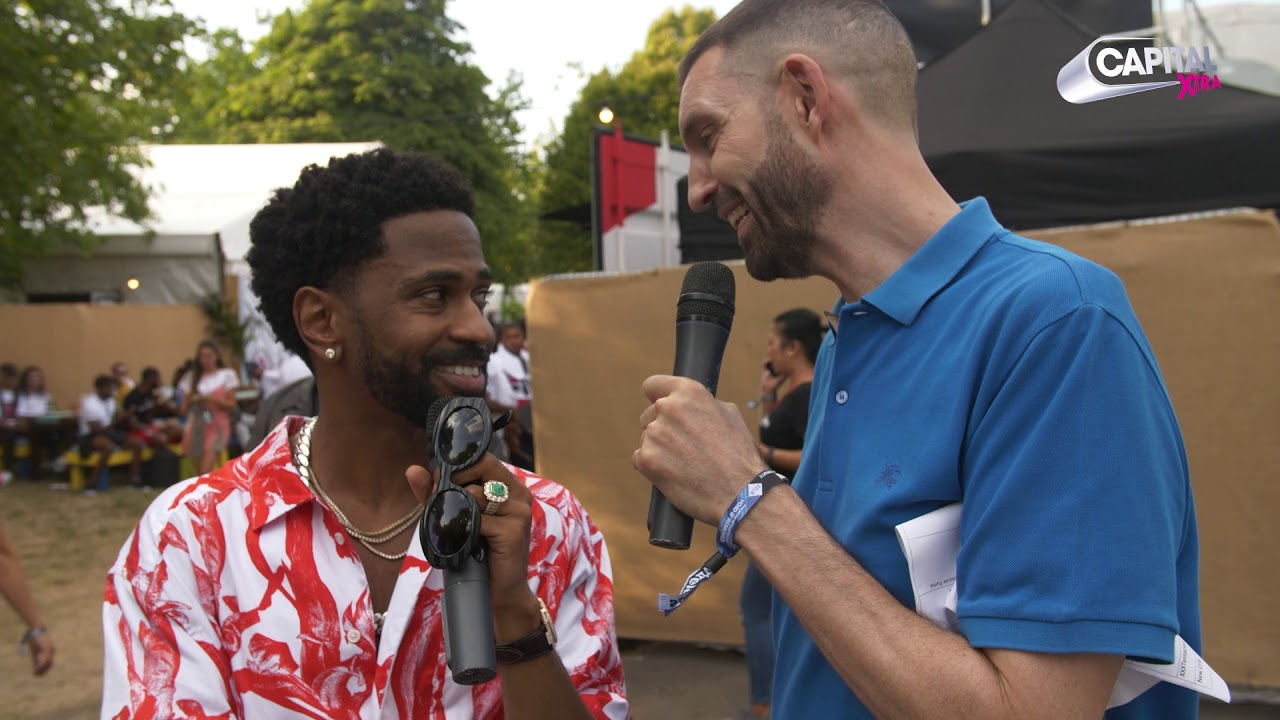 Big Sean Talks Kanye West And New Music Backstage At Wireless Festival