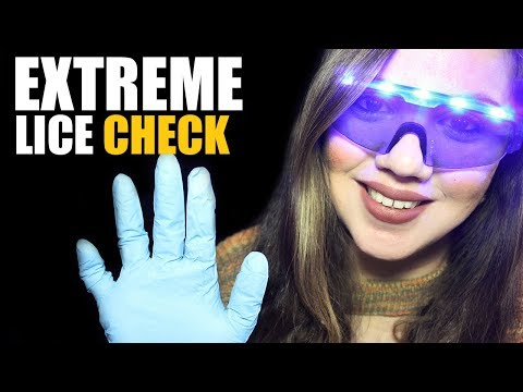 EXTREME Inch by Inch LICE CHECK Role Play Binaural Sounds