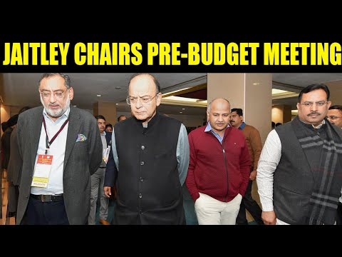 Budget 2018: Arun Jaitley chaired pre-budget meeting with finance ministers of all states and UTs