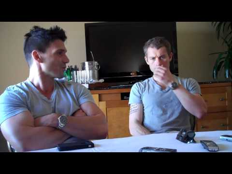 Frank Grillo & James Badge Dale Part 1The Grey Round TablesSpoiler