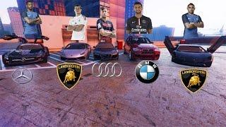 TOP 5 DES VOITURES DE FOOTBALLEURS SUR GTA 5 ! #2