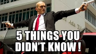 5 things you didn't know about hitman agent 47