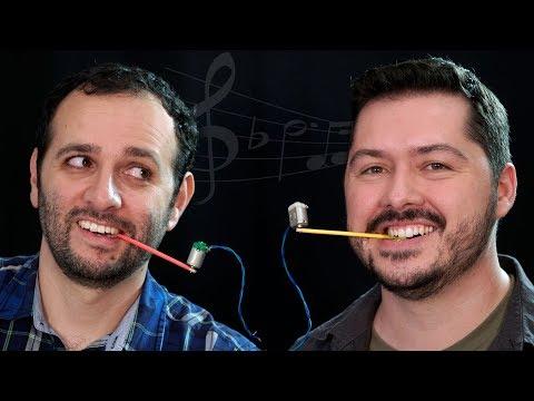 Motor que toca música dentro da boca ft. Átila Iamarino