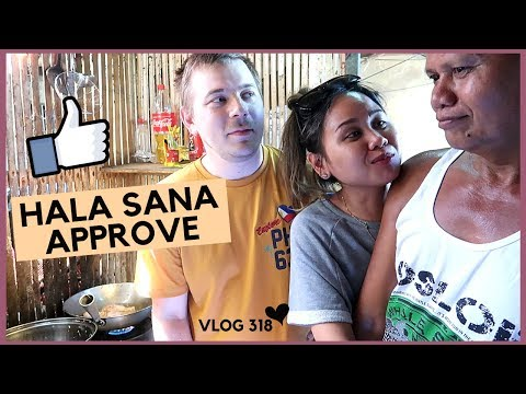COOKING SA KUSINA WITH FILIPINO FATHER IN-LAW