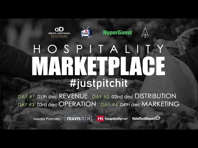Hospitality Marketplace - DAY 1 Revenue Management