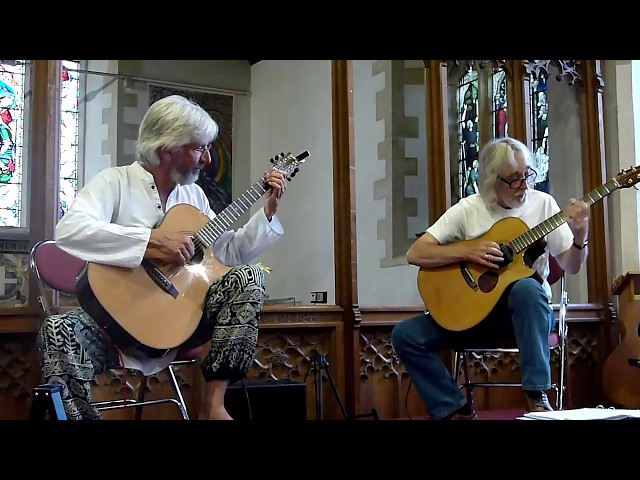 Gordon Giltrap and Nick Hooper play Snowy