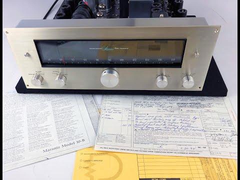Marantz Vintage Model 10B Analog Tube Tuner - Video Review