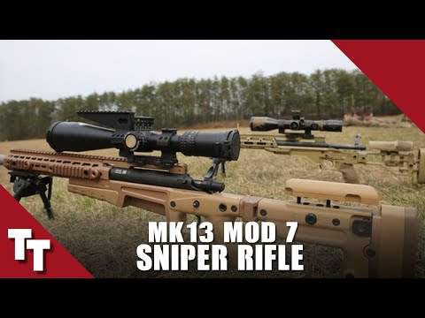 Tactical Tuesday MK 13 mod 7 Sniper Rifle Marines