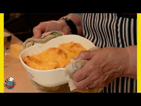 Pineapple Bread Pudding || Nana's Cookery