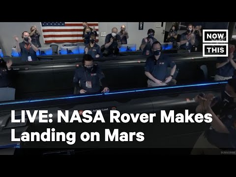 NASA Perserverance Rover Lands on Mars | LIVE