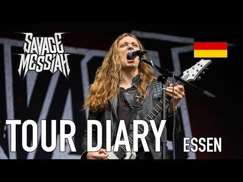 Tour Diary - SAVAGE MESSIAH Turock 2017