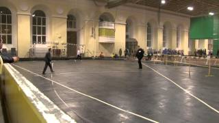 видео: Толкание ядра девушки. Первенство СПБ 97-98 (10.01.2014)