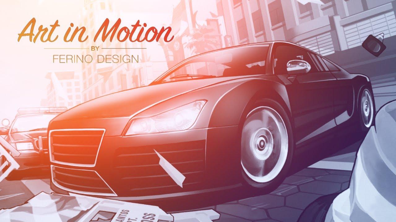 Gta V Car Hd Wallpaper Gta V Art In Motion 2 Animated Launch Trailer Hd