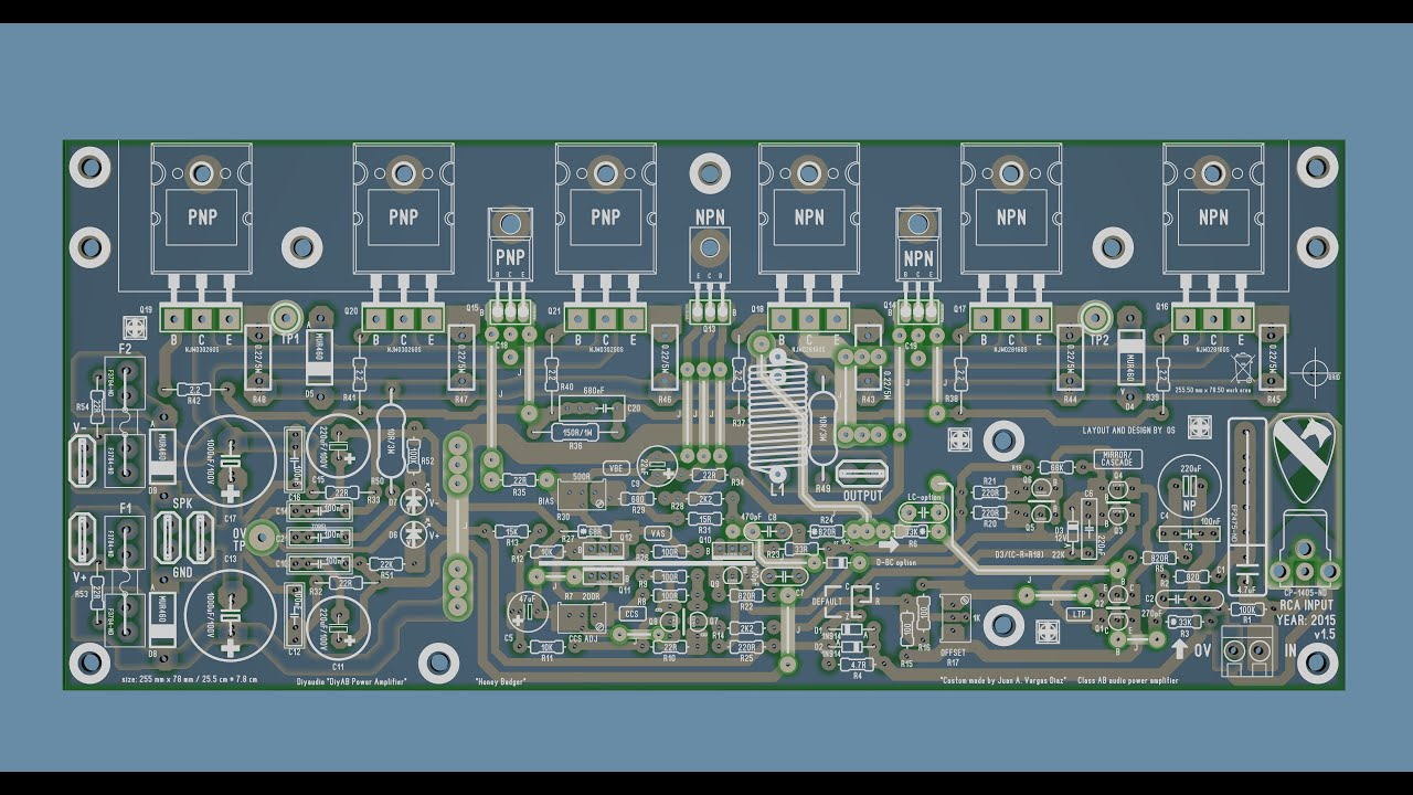 Class D Amplifier Pcb Audio Amplifierwith