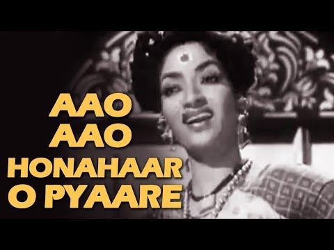 Aao Honahaar O Pyaare Bachche | Do Ankhen Barah Haath (1957) | Sandhya | Old Classic Hits