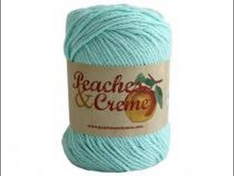 Peaches And Cream Yarn Review Youtube