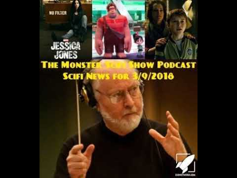 The Monster Scifi Show Podcast - Scifi News for 3/9/2018