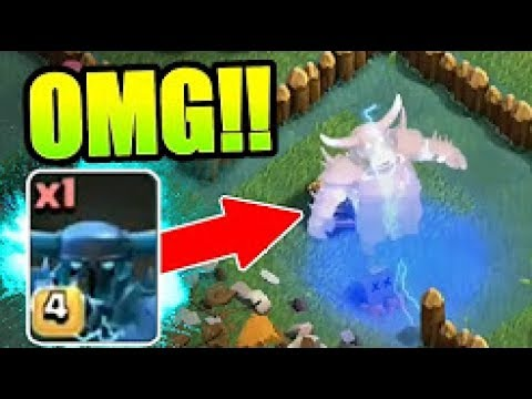 NEW MAX LEVEL SUPER PEKKA GAME PLAY!! OVERCHARGE ABILITY!! BUILDERS VILLAGE TROOPS! - Clash Of Clans