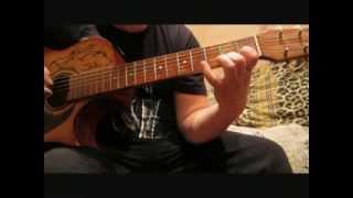 самая самая легкая мелодия на гитаре для начинающих гитаристов(разбор)