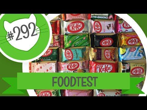 #292 | FOODTEST | Kitkat z Japonska