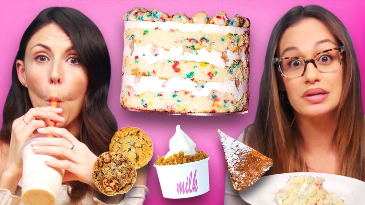Trying Delicious Desserts from Milk Bar (Cheat Day)