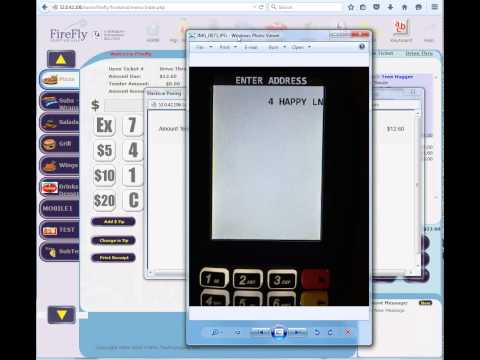 Processing Credit Transactions with Mercury - DeJavoo EMV in FireFly