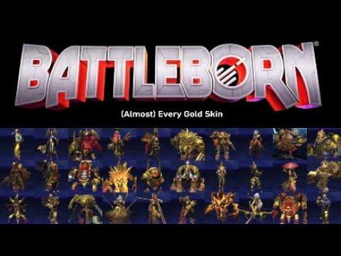 Battleborn: (Almost) Every Gold Skin