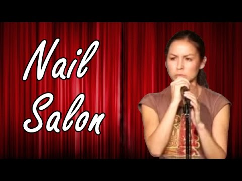 Anjelah Johnson Nail Salon Stand Up Comedy
