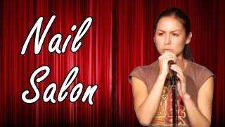 Anjelah Johnson   Nail Salon  (stand Up Comedy)