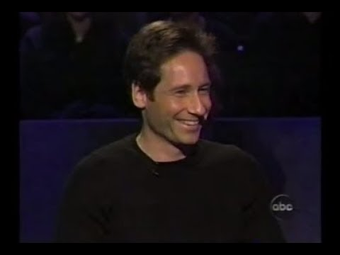 David Duchovny on Who Wants to be a Millionaire Celebrity Edition I
