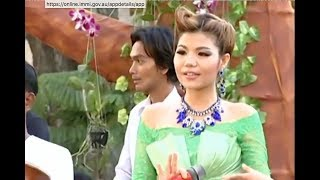 Khmer Romvong songs Non Stop Karaoke for new year Bopha production