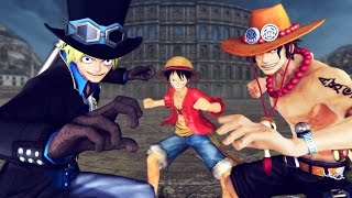 ワンピース 海賊無双 3 必殺技集 キズナ One Piece Musou 3 All Special & Kizuna Attacks PS4 HD 1080p thumbnail