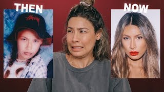 THEN VS NOW CHALLENGE - I'M SHOOK | DESI PERKINS