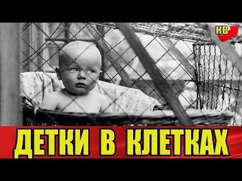 Почему мамочки сажали когда-то малышей в клетки?! И чем все это закончилось?