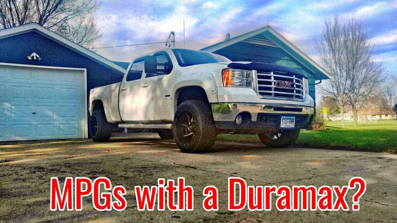 HOW TO: MPG\'s with your DURAMAX (hypermiling) - YouTube