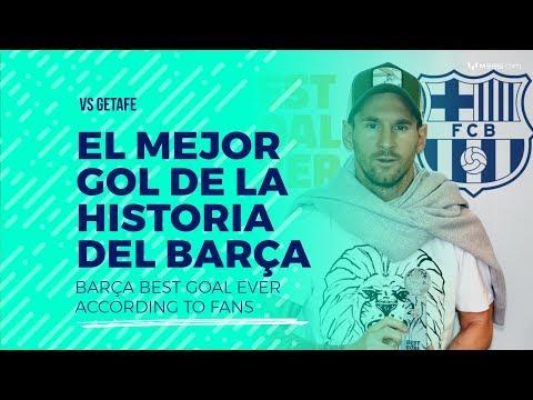 Messi a Getafe: el mejor gol de la historia del Barça según sus fans