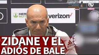 "Real Madrid |ZIDANE: ""Si BALE se va mañana, mejor"" | Diario AS"