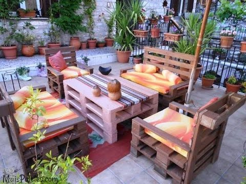 Creative Ways To Recycle Wooden Pallets over 200 ideas