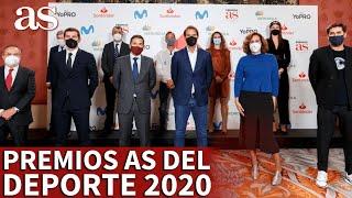 Premios AS 2020 | Nadal, Casillas, Gasol, Carlos Sainz: lo mejor de la gala | Diario AS