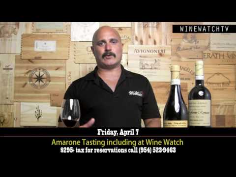 Event! The Legends of the Veneto- Amarone Tasting at Wine Watch - click image for video