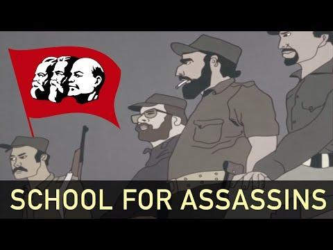 School for Assassins - US Anti-Communist Propaganda Cartoon [1982]
