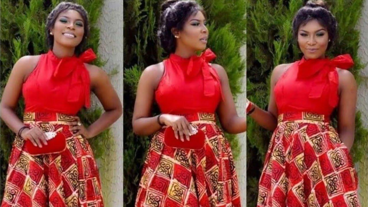 Kitenge Designs For Short Dresses 2019 Youtube
