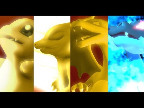 Pokemon X Digimon - Charmander Evolution