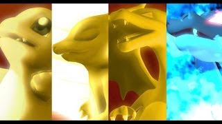 Pokemon X Digimon - Charmander Evolution