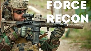 US Marines Force Recon Training - Urban Assault Combat Training