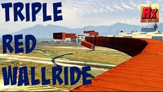 "Gambar cover TRIPLE WALLRIDE OF DESTROY1666! ""Wall of the Fame3""{PS4 GTA5 Online Epic Custom Races}"