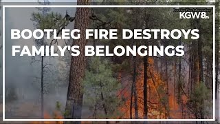 Family loses everything to growing Bootleg Fire in Southern Oregon