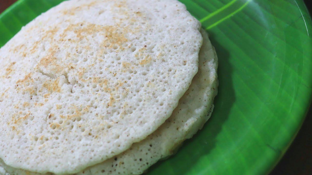 പഴമയുടെ രുചിയിൽ സ്പോഞ്ജപ്പം/വെള്ളപ്പം/kallappam/sponge appam